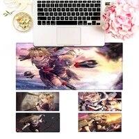 desk mat kancolle kantai collection yuudachi pc laptop gamer mousepad anime antislip mat keyboard desk mat for overwatchcs go