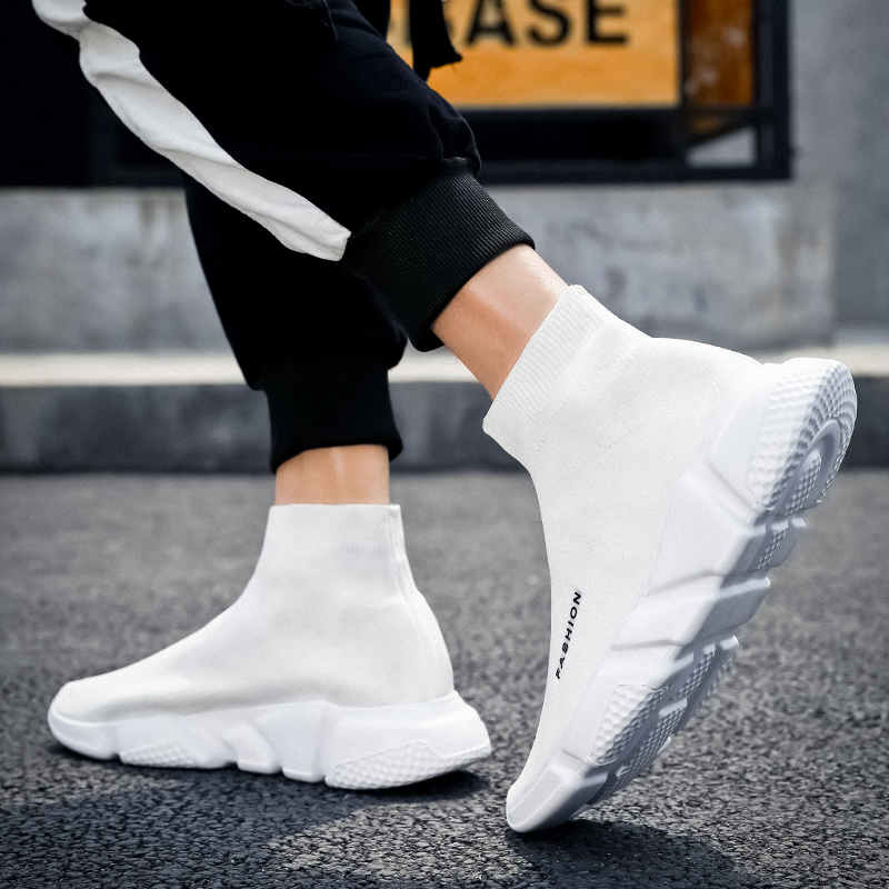 Zapatillas deportivas Slip-on para hombre, Zapatillas altas de verano, zapatillas para correr...