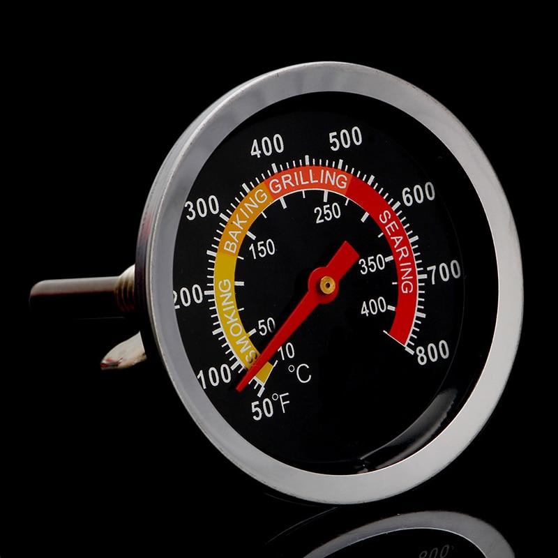 Y1UU термометр из нержавеющей стали для барбекю гриля барбекю Температурный датчик 10-400 ℃