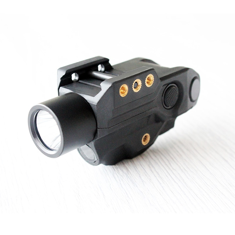 الذكية الاستشعار 9 مللي متر بندقية عدسة رؤية بالليزر الأخضر 450 التجويف LED مسدس ضوء كومبو التكتيكية