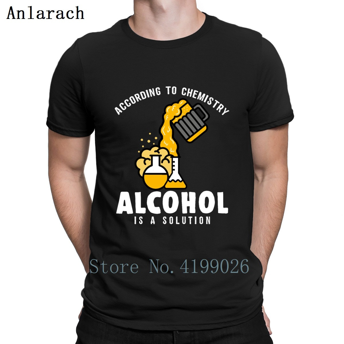 Divertida camiseta de tetera de química con Alcohol, camiseta de manga corta, gran creativa, camiseta de Hip Hop, oferta barata, camiseta de Hip Hop