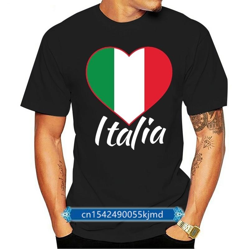 Camiseta personalizada I Love itala-italia para hombres, Camisetas geniales para adultos, Camisetas...