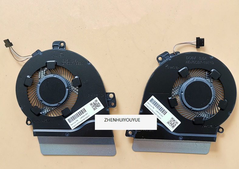 Nouveau pour HP ND75C07-18E19 18E20 Q2O8 ventilateur L40619-001 L40620