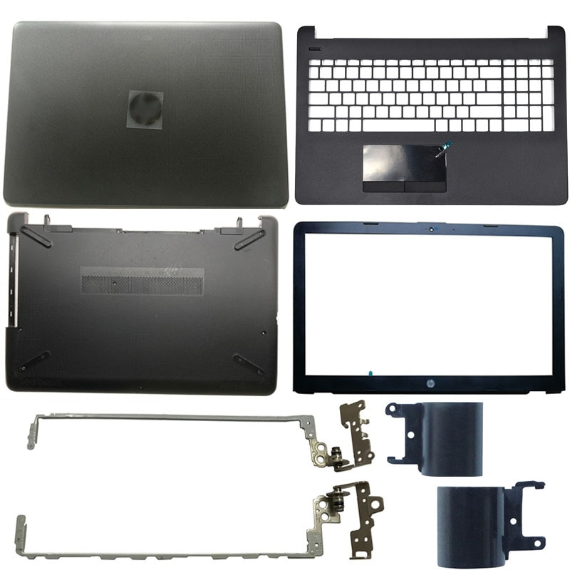 NEW Laptop LCD Back Cover/Front bezel/LCD Hinges/Palmrest/Bottom Case For HP 15-BS 15T-BS 15-BW 15Z-