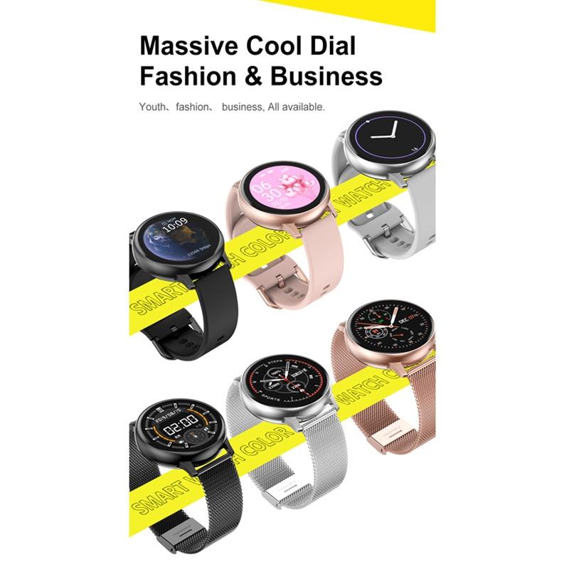 Smart Watch Women DT88 Pro+Strap+Earphone ECG Fitness Music Control Smartwatch Men Waterproof Tracker for Samsung Huawei iPhone