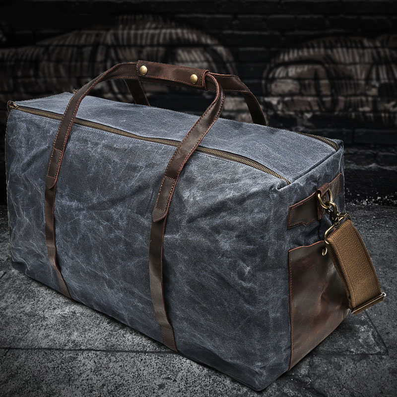 outdoor-travel-bag-oil-wax-canvas-shoulder-handbag-wear-resistant-technology-with-leather-large-capacity-mens-retro-luggage-bag