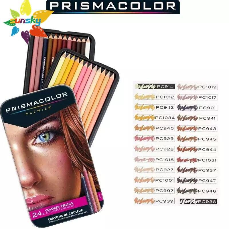Prismacolor premier colorido lápis 24/pkg-retrato-25085r