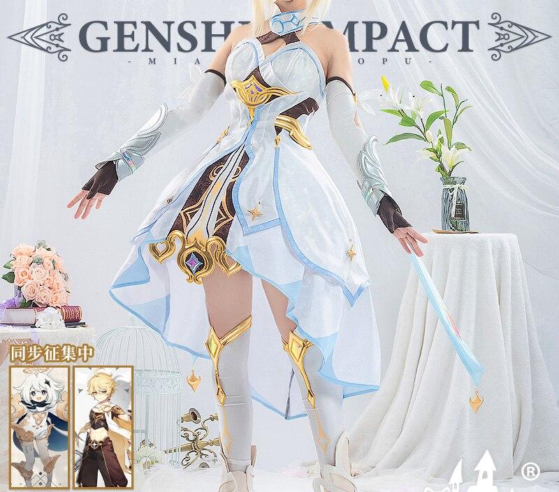 Fantasia de Cosplay Genshin Aetera