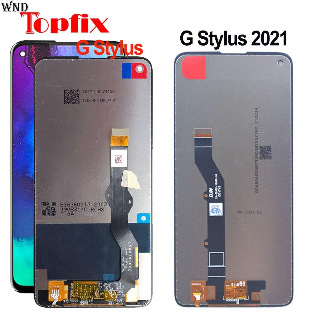 لموتورولا موتو G ستايلس 2021 XT2115 LCD شاشة تعمل باللمس لوحة الرقمية الجمعية ل موتو G ستايلس XT2043 XT2043-4 LCD