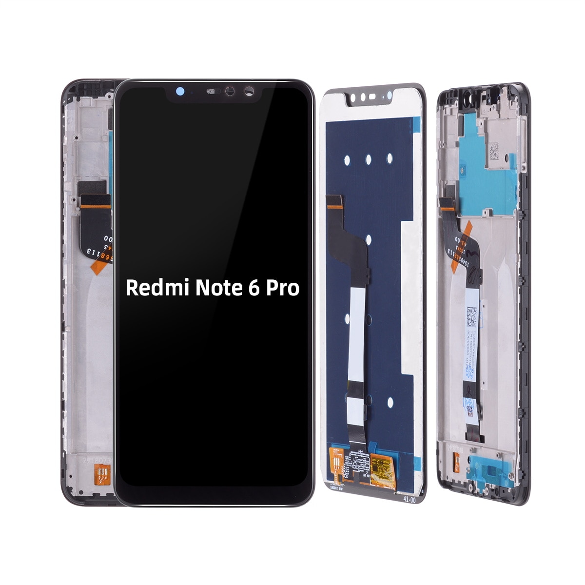 Xiaomei reemplazar en Xiaomei para Xiaomi módulo Redmi Note 6 Pro LCD reemplazar en reemplazo Xiaomei 6,26 pulgadas