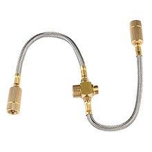 Hot yn-universal Propane régulateur réservoir de remplacement tuyau de raccordement avec tuyau pour gaz gril chauffage cuisinière accessoires séparateur
