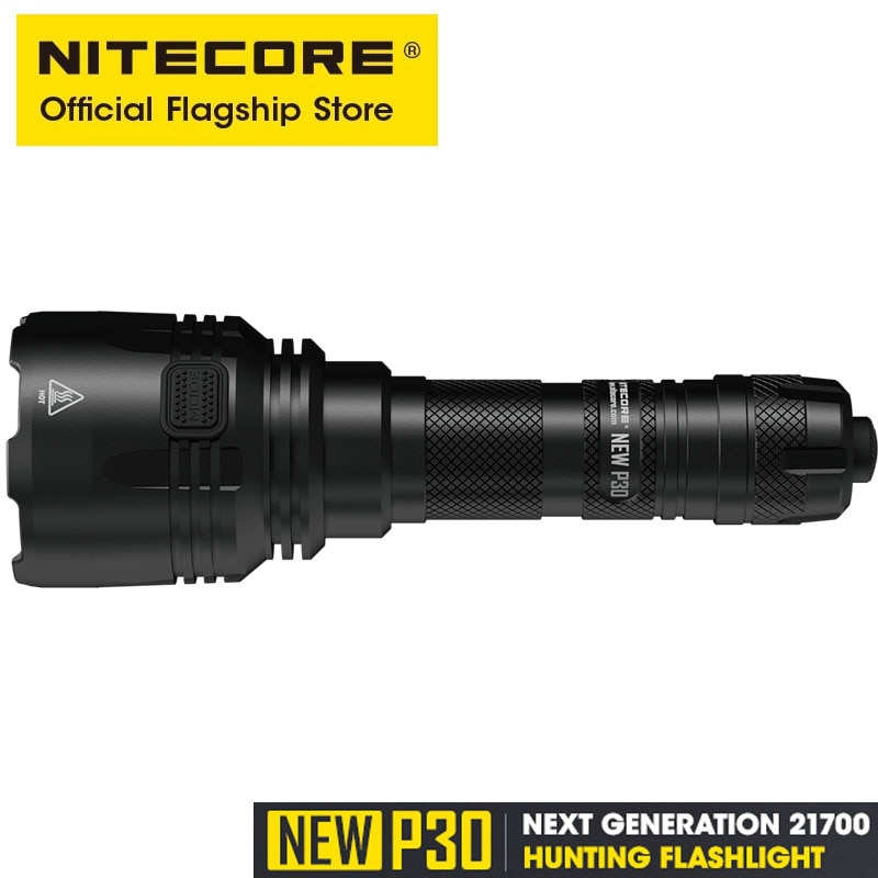 NITECORE NEW P30 HUNTING KIT 1000 LUMENS Outfoor Tactical Flashlight LED Torch Light With NL2140 4000mAh Battery UI2 Charger enlarge