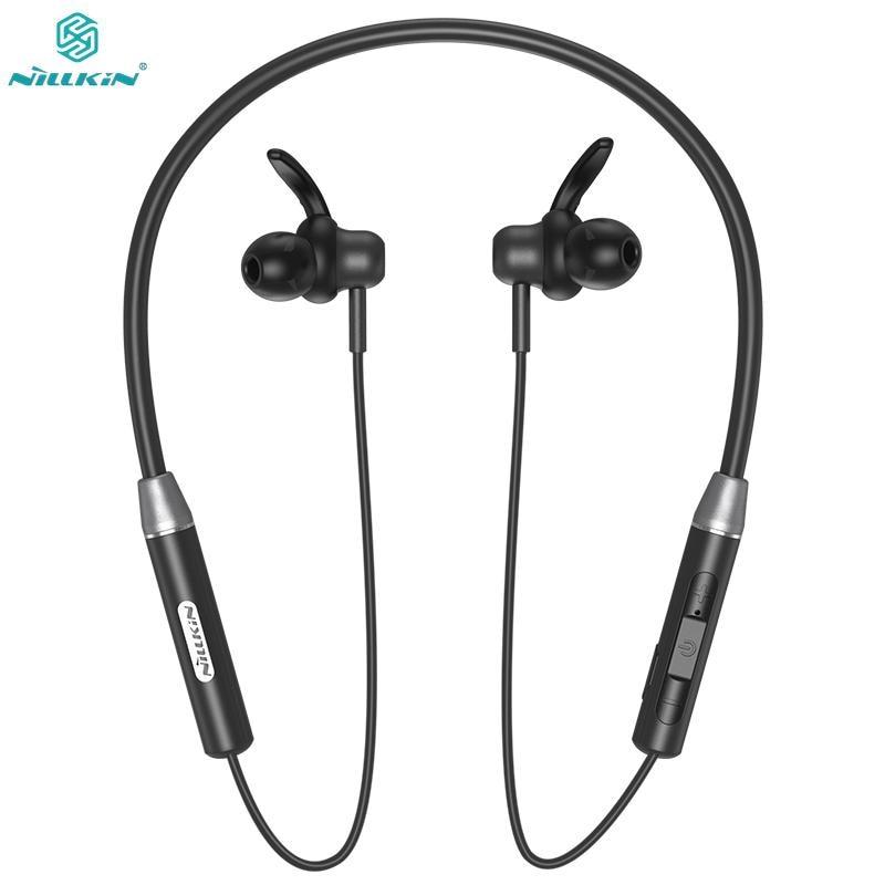 NILLKIN inalámbrico magnético Flexible para el cuello auricular IPX4 impermeable deporte estéreo para iPhone Samsung Xiaomi Bluetooth 5,0 auricular