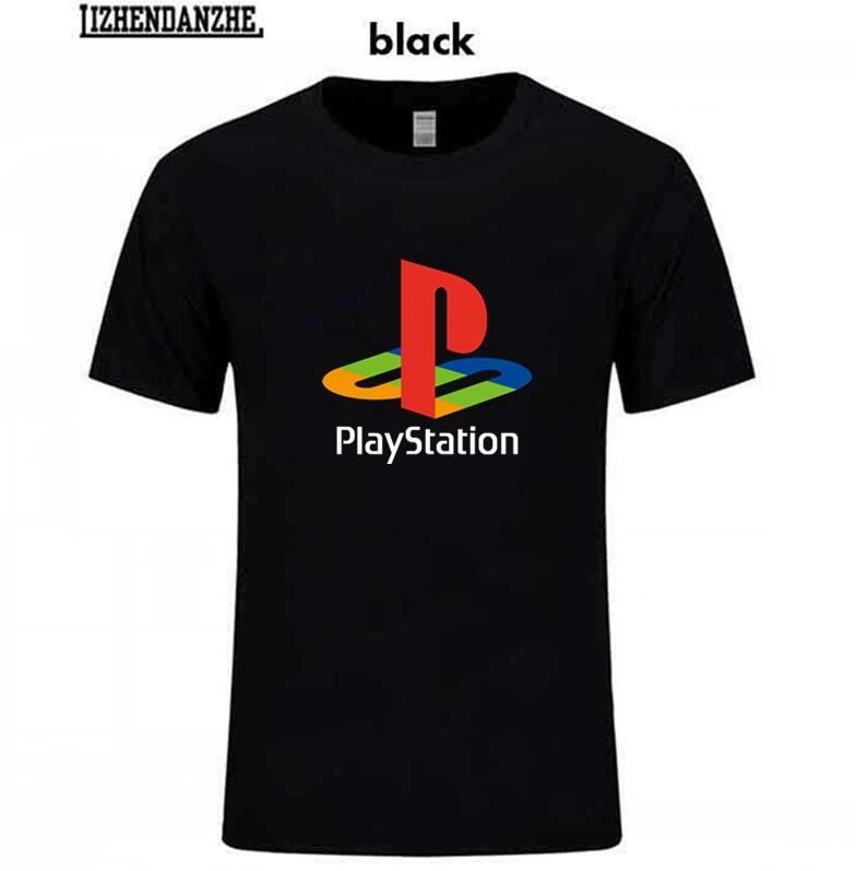 PS T shirt Xbox Game playstation T-shirt Men Streetwear Tee shirt HipHop O-neck Short Sleeve Summer Pure Cotton Tee tshirt
