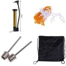 5 Pcs/ Set Bicycle Pump Basketball Football Volleyball Tube Pump Mini Portable Ball Bike Pump Air Needle Net Bag