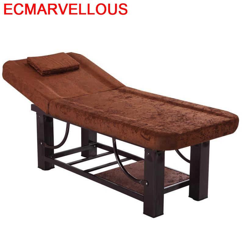Tidur-cama De Masaje Para cuidado Dental, mueble De mesa Plegable Para salón...