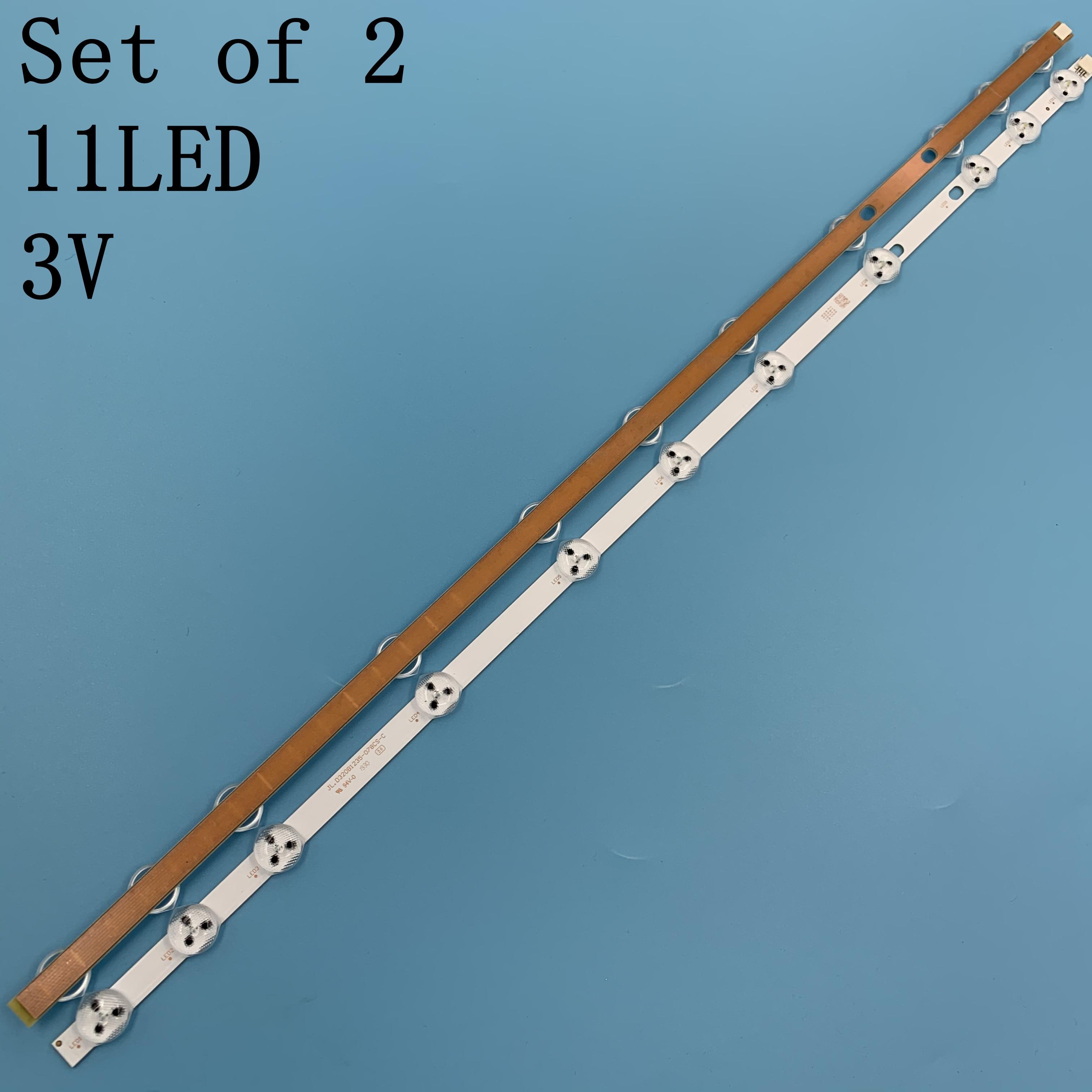 2 sztuk/zestaw nowy oryginał taśmy LED JL.D320B1235-078CS-C VES315WNDS-2D-N14