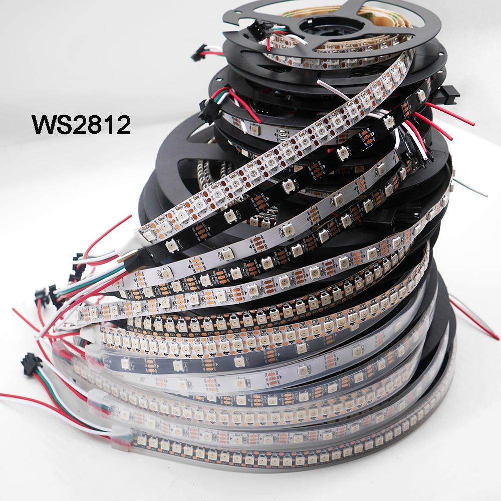 80m WS2812B  60led/m non-waterproof  white PCB   60m APA102  60led/m non-waterproof  white PCB