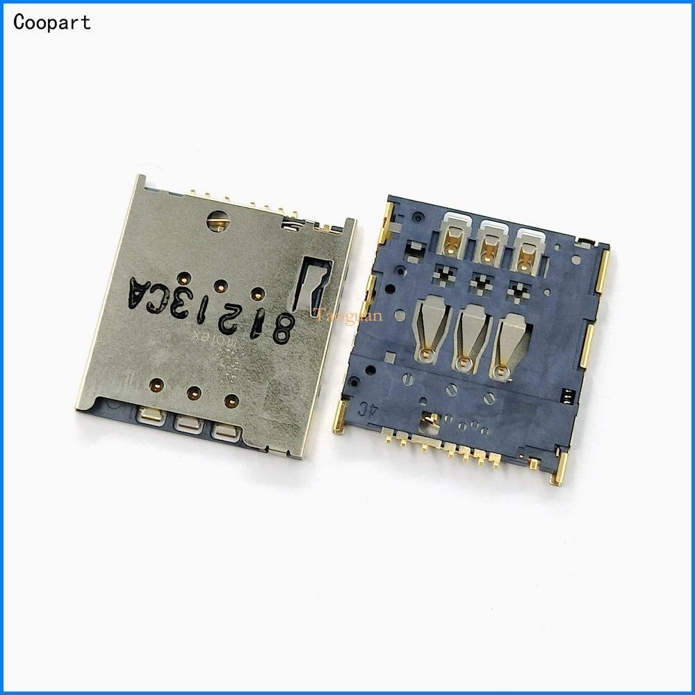 2 unids/lote, nueva toma de tarjetas SIM cooart, soporte de ranura para bandeja de repuesto para Motorola MOTO G XT1032 XT1033 XT1028 XT1034 XT1035