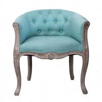 Leisure Sofa Wood Bedroom Computer Chair Coffee Chair Fabric Single Chair Chaise Lounge Sofa Nordic Furniture Arm Chair