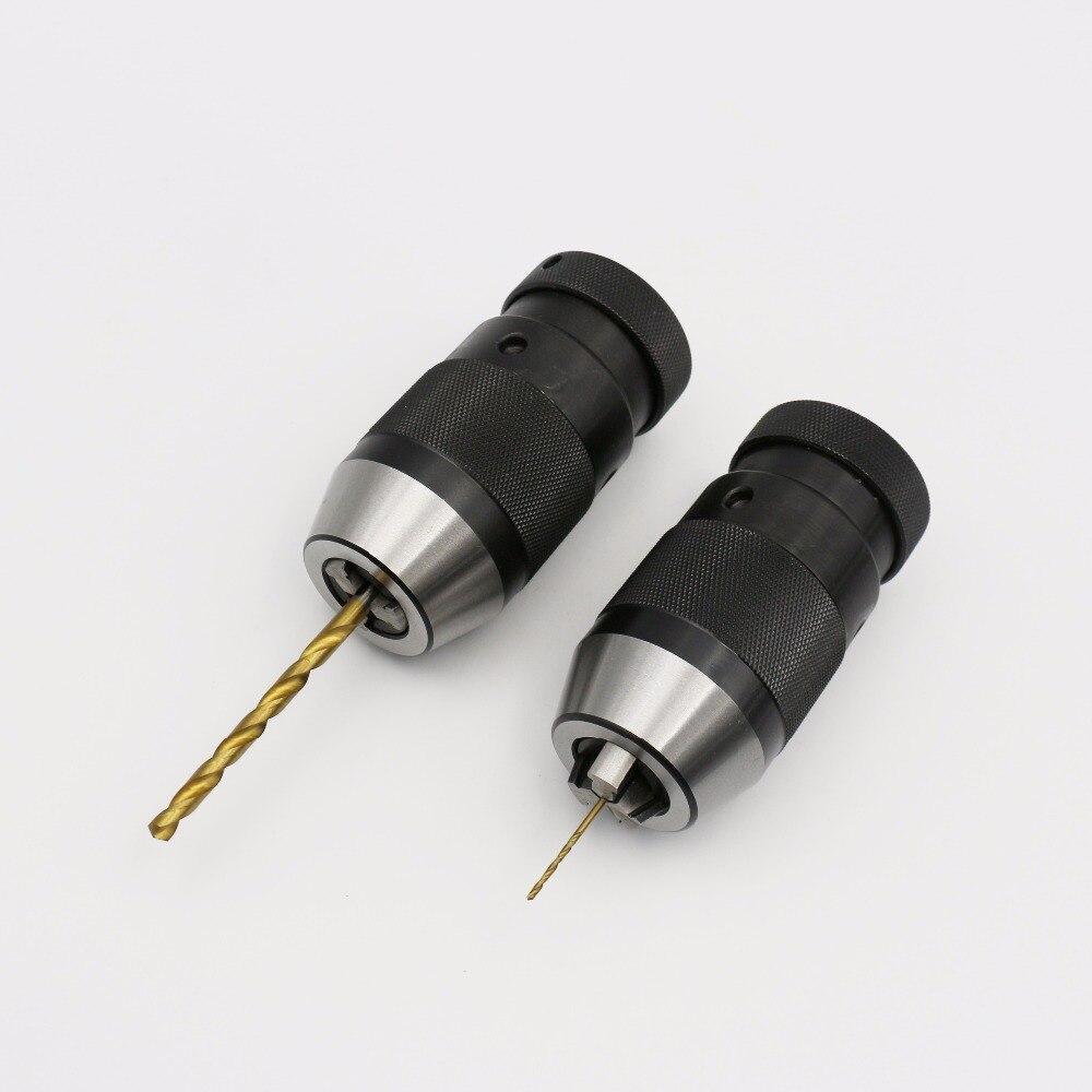 J0206 JT1 Keyless Drill Chucks with Taper fitting enlarge