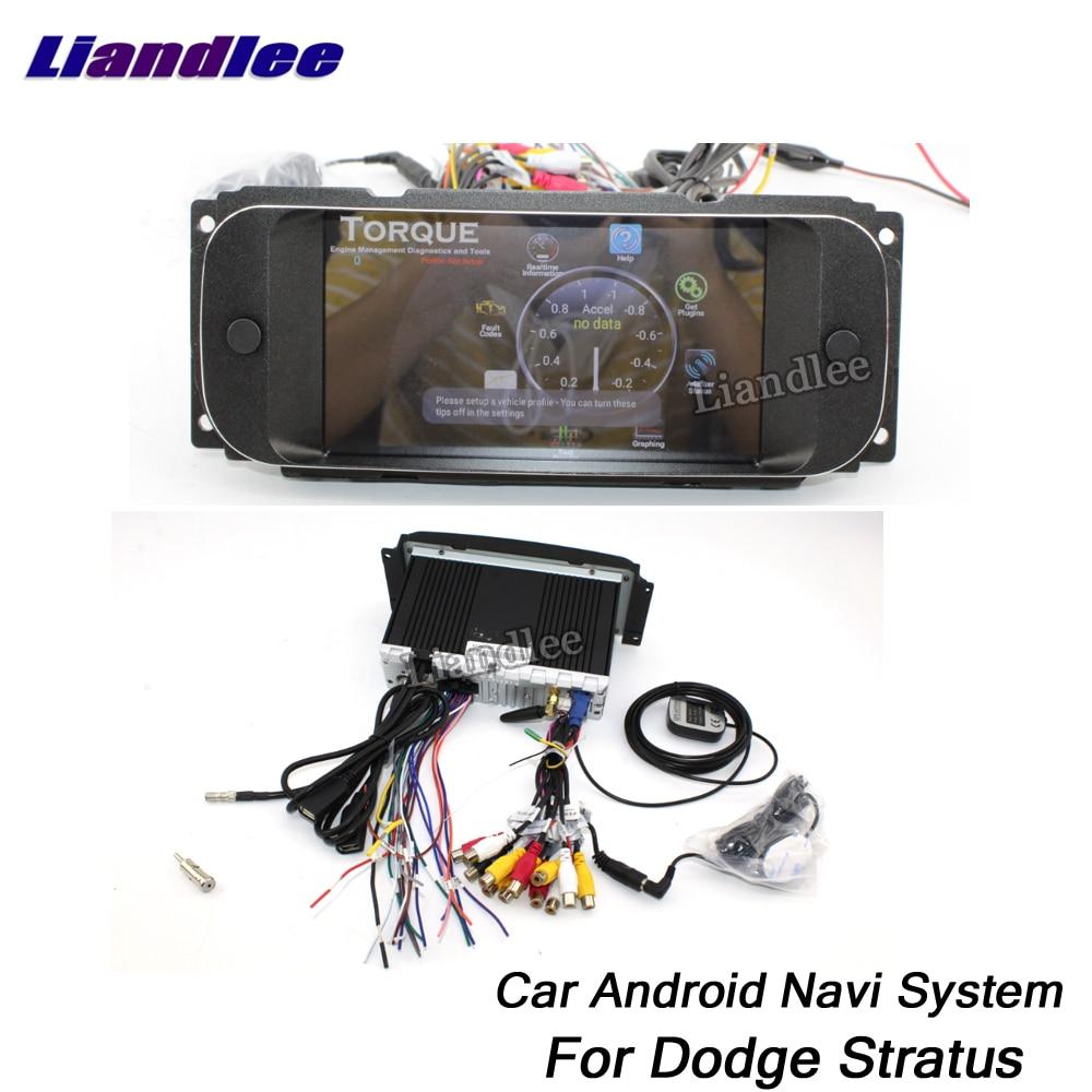 Liandlee Car Android System For Dodge Stratus 2001~2006 Radio Stereo Carplay Wifi GPS Navi MAP Navigation HD Screen Multimedia