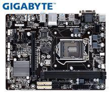 Настольная Материнская плата GIGABYTE GA-B85M-D2V B85 Socket LGA 1150 i3 i5 i7 DDR3 16G Micro-ATX UEFI BIOS оригинальная б/у Материнская плата PC