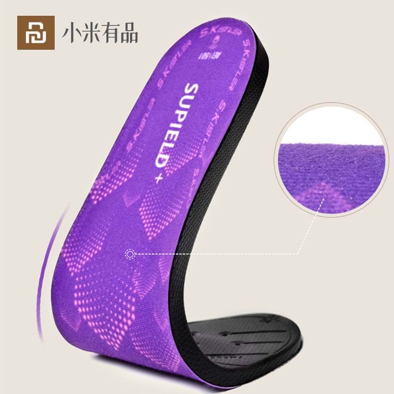 Youpin-نعل داخلي للتدفئة ، وسادة حذاء Aerogel ، تحكم لاسلكي ذكي في درجة الحرارة ، نعل حراري كهربائي