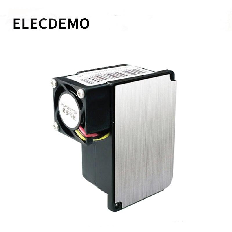 High-precision laser pm2.5 sensor PM2.5 detection module dust dust particle concentration air quality detection computer enlarge