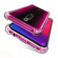 transparent shockproof phone case for xiaomi mi 9t redmi k20 pro airbag soft silicone 9tpro mi9t original clear back cover funda