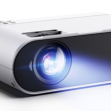 Mini Projector TD90 Update Native 1280 x 720P Portable Projector 40 Degree Keystone Android WiFi 3D