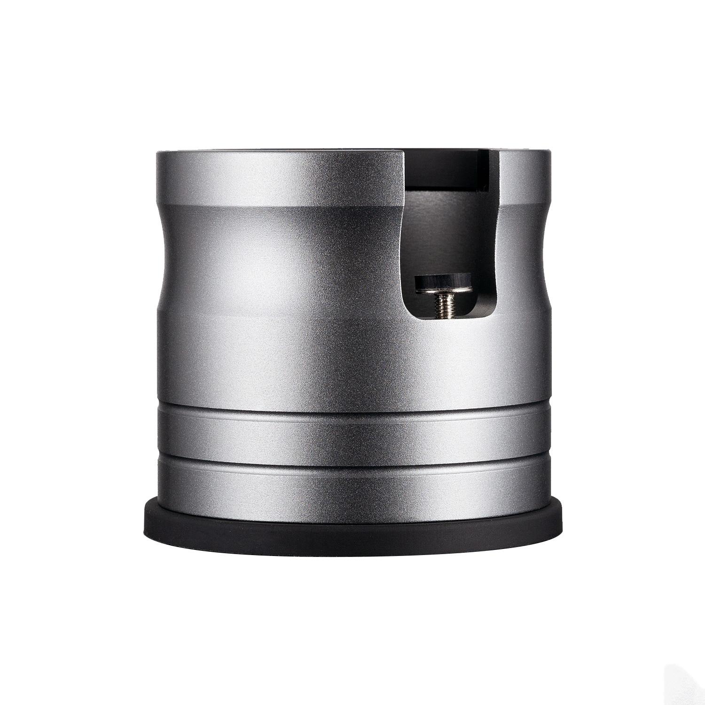 قاعدة دعم لضغط القهوة ، قاعدة متينة من سبائك الألومنيوم ، لمدك القهوة 58 مللي متر ، مع حصيرة سيليكون