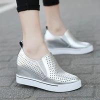 casual womens shoes korean version show thin inside high shoes for women