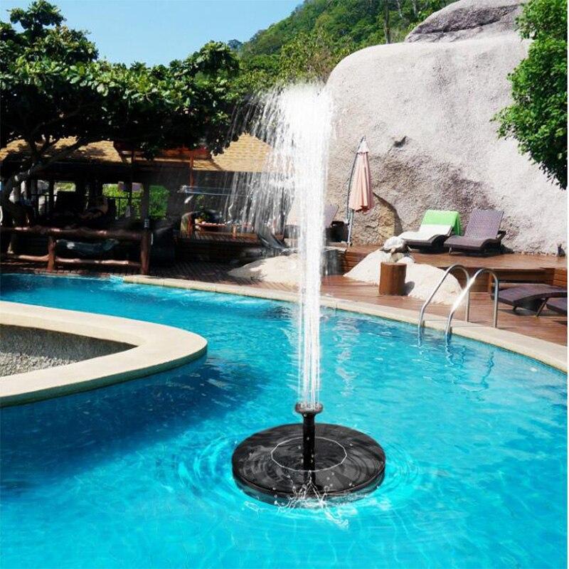 7V солнечная панель фонтан садовый фонтанный насос Солнечный сад фонтаны водопады мощность мини солнечный фонтан