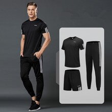 T-shirt sportiva da uomo, pantaloncini sportivi da corsa, pantaloncini sportivi da corsa, pantaloni sportivi da uomo