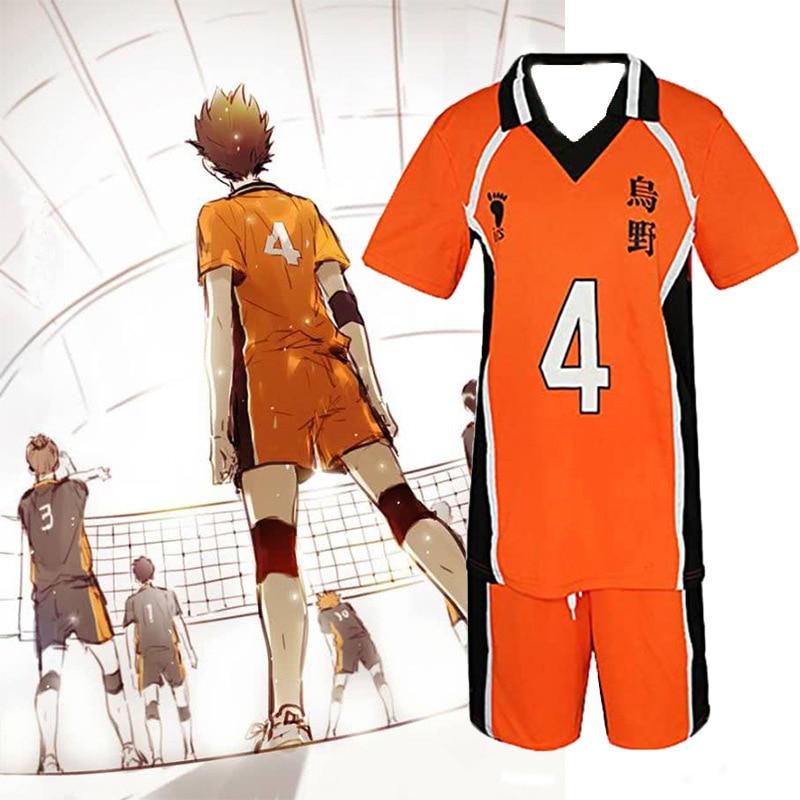 Аниме Karasuno старшая школа волейбол клуб Shyouyou Tobio Косплей Костюм Спортивная одежда Джерси Униформа