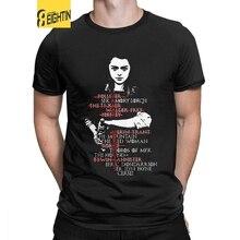 Eightin Game OF Thrones Arya Stark Liste Mann T Shirt Kurzarm Tops Große Größe Neuheit Crewneck Tees 100% Baumwolle t-Shirt