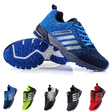 New 2021 Men Running Shoes Junior sports shoes Breathable Outdoor Sports Shoes Lightweight Sneakers