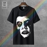 the exorcist w friedkin movie poster homme tshirt hip hop clothing tshirts designer t shirt o neck t shirt big size men