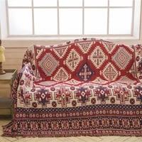 geometric rug throw blanket bohemian rug sofa cover sofa blanket universal dust proof protective blanket for living room decor