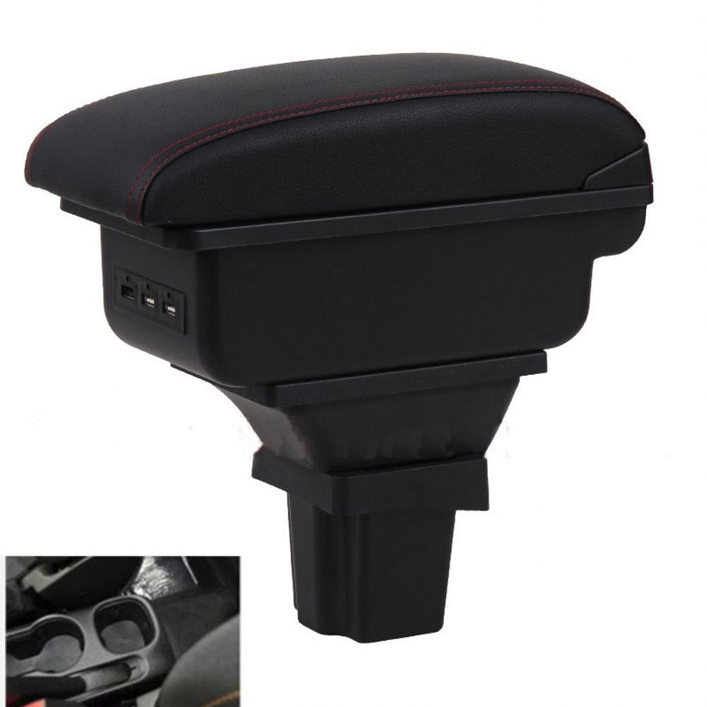 Para Chevrolet Trax rastreador reposabrazos caja universal compartimento central para coche accesorios de modificación de doble criado con USB