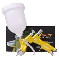 professional spray gun gti pro painting gun te20t110 1 31 8mm nozzle paint gun water based air spray gun airbrush