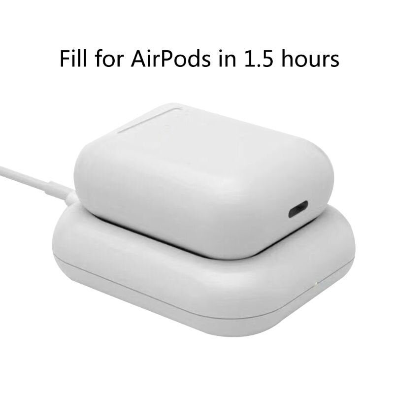 Base de carga inalámbrica Qi para Airpods 2nd Pro auriculares Bluetooth