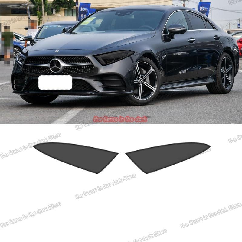Lsrtw2017 Прозрачная Черная защитная пленка для фар автомобиля из ТПУ для Mercedes Benz cls class c257 2020 2019 2018 2012-2017