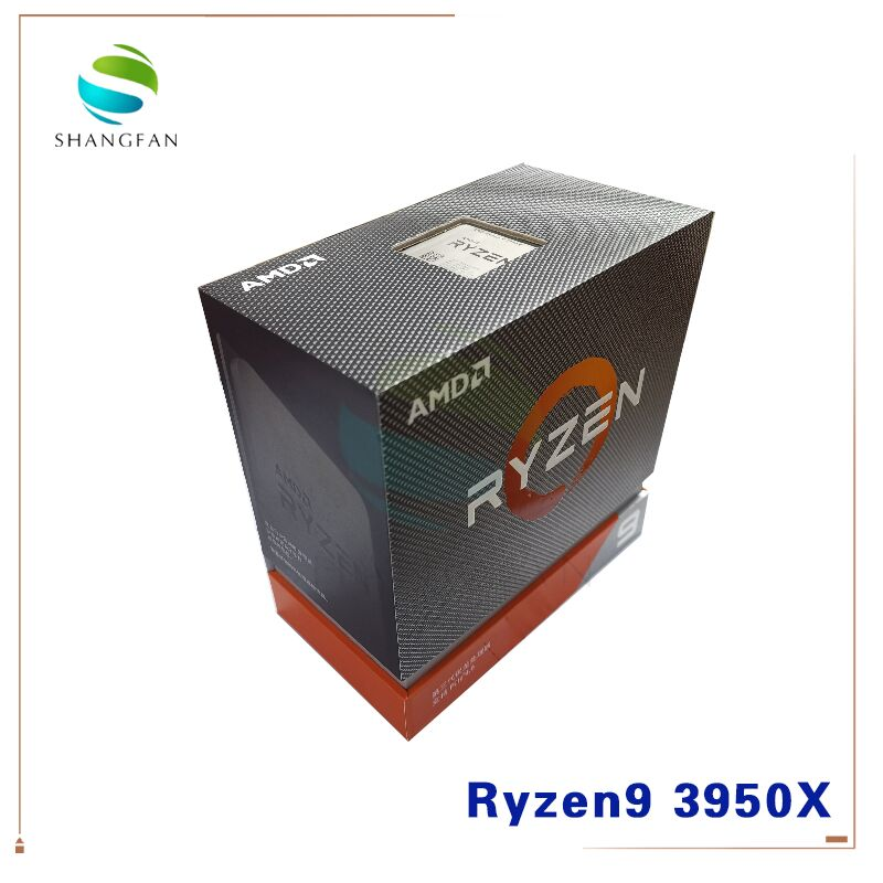 Nuevo AMD Ryzen 9 3950X Ryzen 9 3950X R9 3950X 3,5 GHz 16-Core 32-Hilo de procesador de CPU 7NM L3 = 64M 100-000000051 zócalo de AM4 sin ventilador