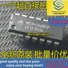 10pcs only orginal new MC14066BCP in-line DIP14 counter IC chip brand new imported original authenti