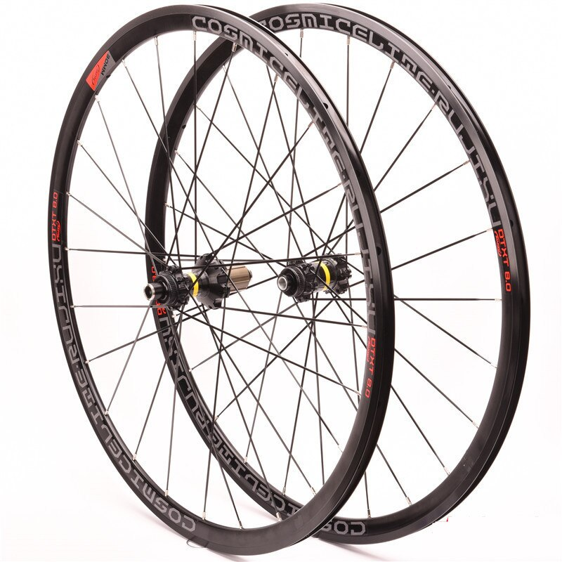 Road bike wheel set 700C Cosmic Elite center lock Six holes road disc brakes 30MM 4 Sealed Bearing Aluminium Bicycle Wheelset