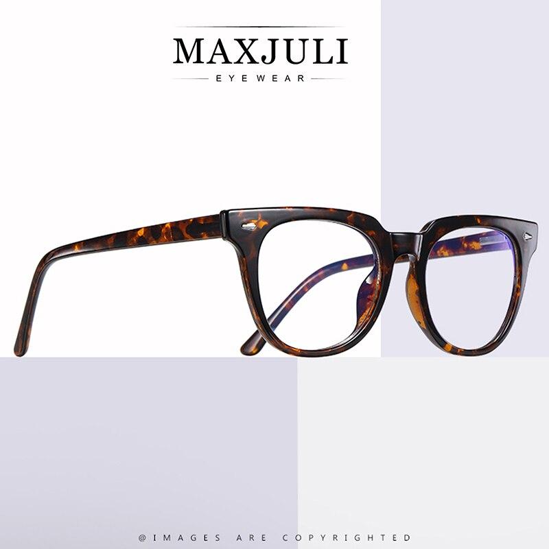 MAXJULI, gafas de ordenador Anti Blue Rays para mujer, gafas de Gaming con revestimiento de luz azul, gafas de bloqueo de luz dañina Unisex para hombres, gafas 6031