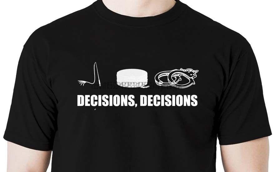 Decisions t shirt -rope restraint cuff hood ball gag shabari whip handcuffs