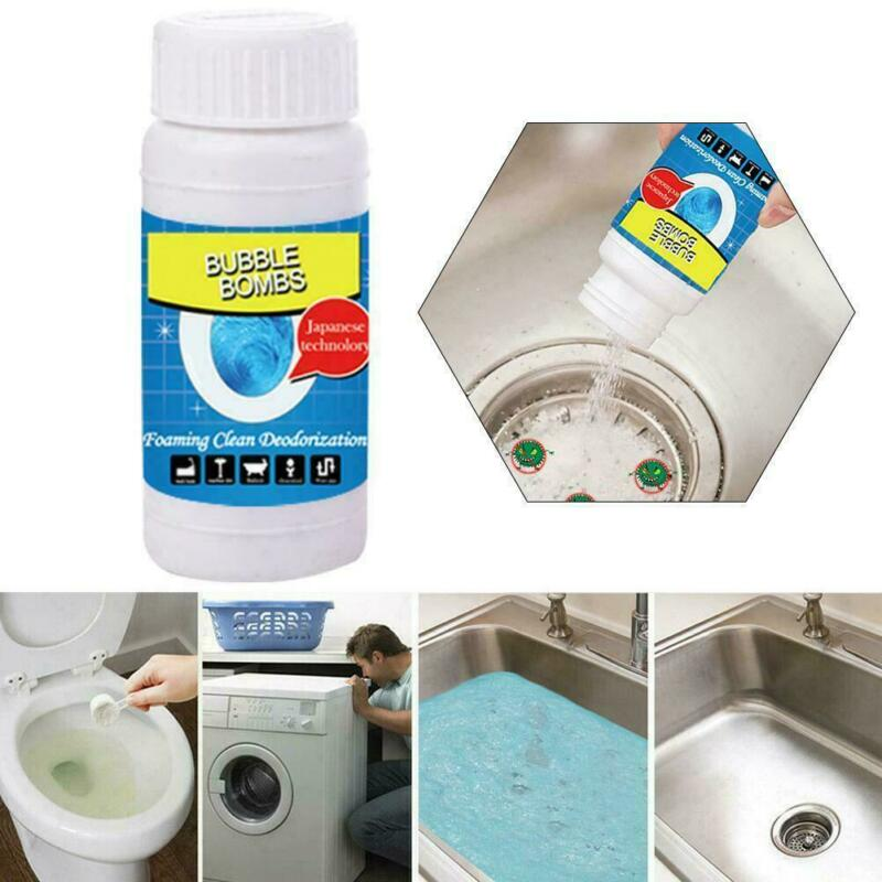 Novo para todos os fins rápido poderoso espumando toalete cleaner sink & dreno cleaner/by